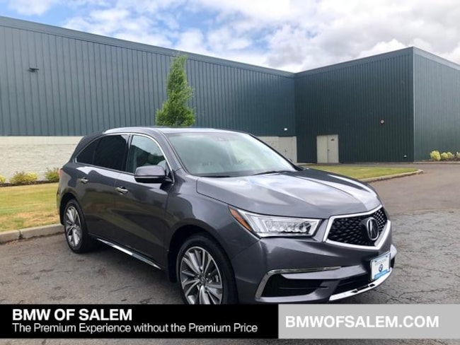 Used 2017 Acura MDX V6 SH-AWD with Technology Package SUV Salem, OR