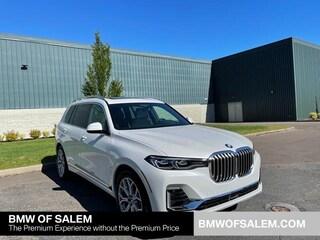 New 2021 BMW X7 xDrive40i SAV in Salem, OR