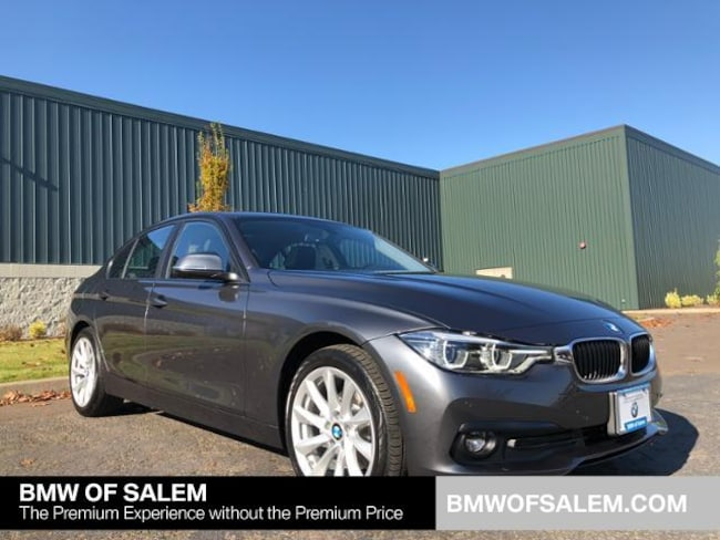 New 2018 BMW 320i xDrive Sedan Salem, OR