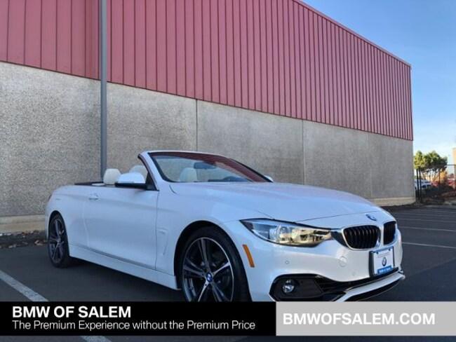 New 2019 BMW 430i Convertible Salem, OR