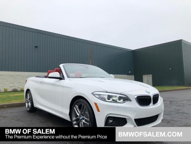 New 2019 BMW 230i xDrive Convertible Salem, OR