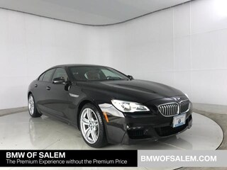Certified Pre-Owned 2016 BMW 6 Series 4dr Sdn 650i xDrive AWD Gran Coupe Car Salem, OR