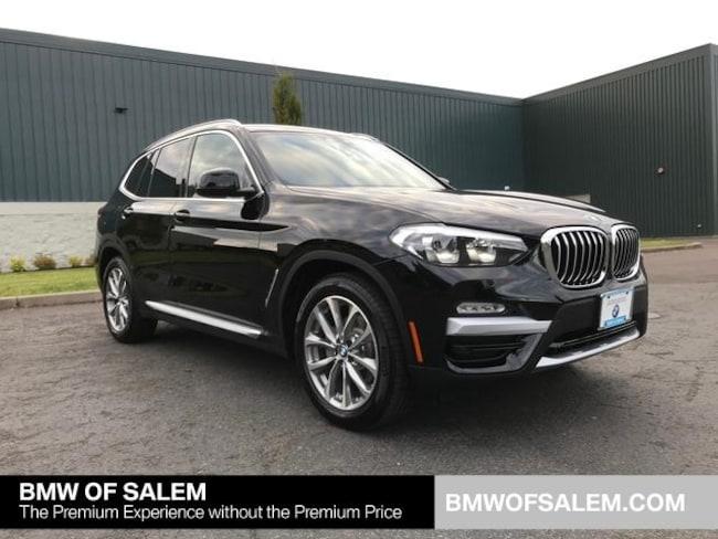 New 2019 BMW X3 xDrive30i SAV Salem, OR