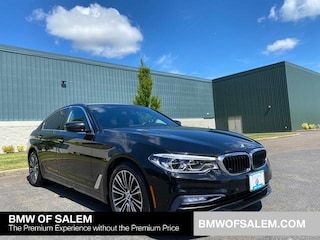 Certified Pre-Owned 2017 BMW 5 Series 540i Sedan Car Salem, OR