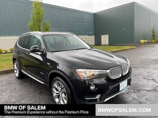Certified Pre-Owned 2017 BMW X3 xDrive28i Sports Activity Vehicle Sport Utility Salem, OR