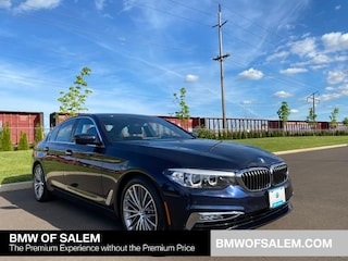 Certified Pre-Owned 2017 BMW 5 Series 530i Sedan Car Salem, OR
