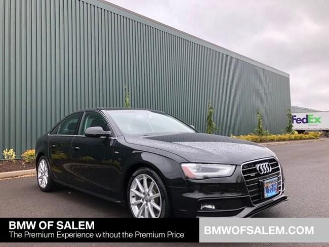 Used 2014 Audi A4 2.0T Premium Plus Sedan Salem, OR