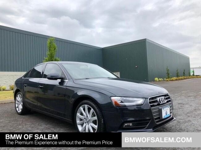 Used 2013 Audi A4 2.0T Premium Sedan Salem, OR