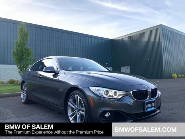 Used 2016 BMW 428i xDrive w/SULEV Gran Coupe Salem, OR