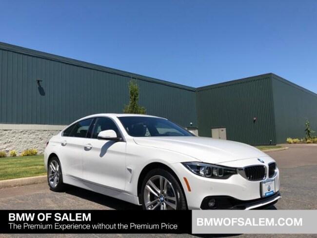 New 2019 BMW 430i xDrive Gran Coupe Salem, OR