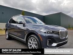 New 2019 BMW X7 xDrive40i SUV in Salem, OR