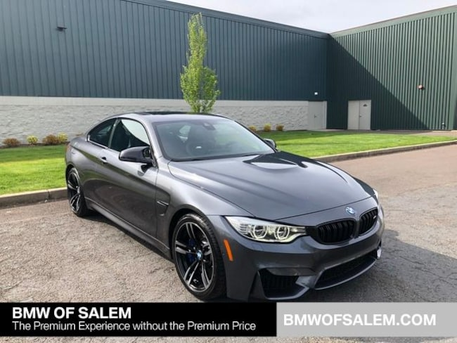 Pre Owned 2016 Bmw M4 Coupe Mineral Grayfor Sale In Salem Or