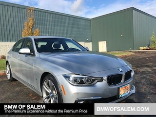 Certified Pre-Owned 2017 BMW 3 Series 330e Iperformance Plug-In Hybrid Car Salem, OR