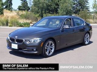 Used 2018 BMW 3 Series 330e Iperformance Plug-In Hybrid Car Salem, OR