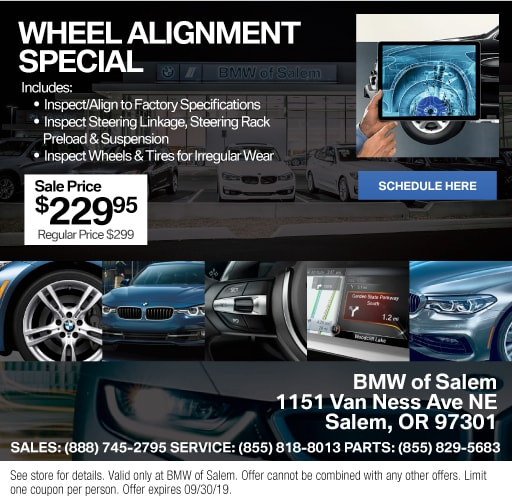 photograph relating to Bmw Coupons Printable called BMW Provider Bargains inside Salem, OR Motor vehicle Company Luxurious Vehicle