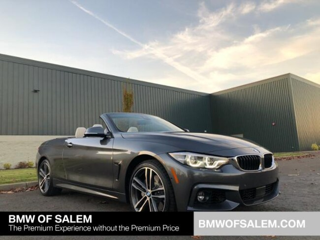 New 2019 BMW 440i xDrive Convertible Salem, OR