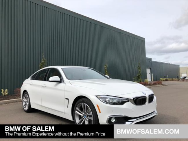 New 2019 Bmw 430i Xdrive Gran Coupe Alpine White For Sale In