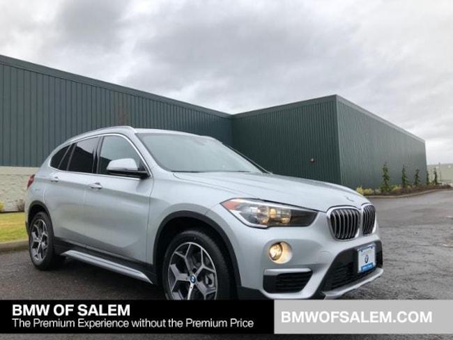 New 2018 BMW X1 xDrive28i SAV Salem, OR
