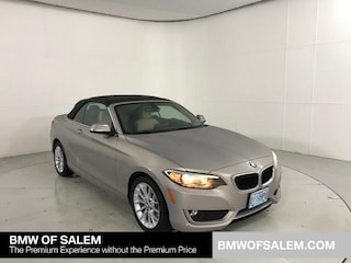 Used 2015 BMW 2 Series 2dr Conv 228i xDrive AWD Convertible Salem, OR