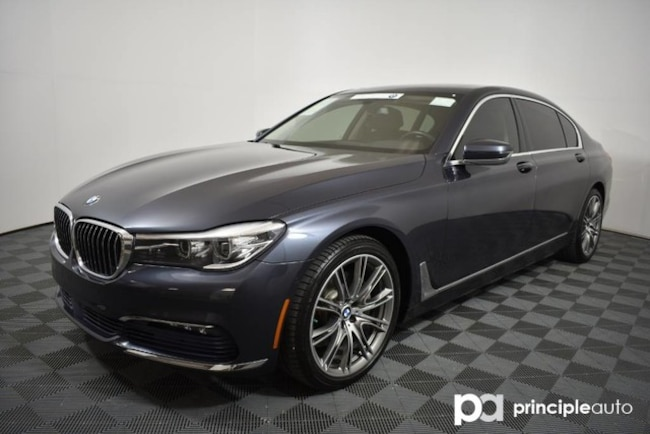 Certified 2016 BMW 740i 740i w/ Executive/Driving Assist Plus II/Sky Loung Sedan San Antonio