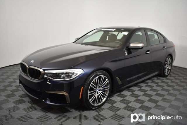 2018 BMW M550i M550i xDrive w/ Executive/Driving Assist Sedan