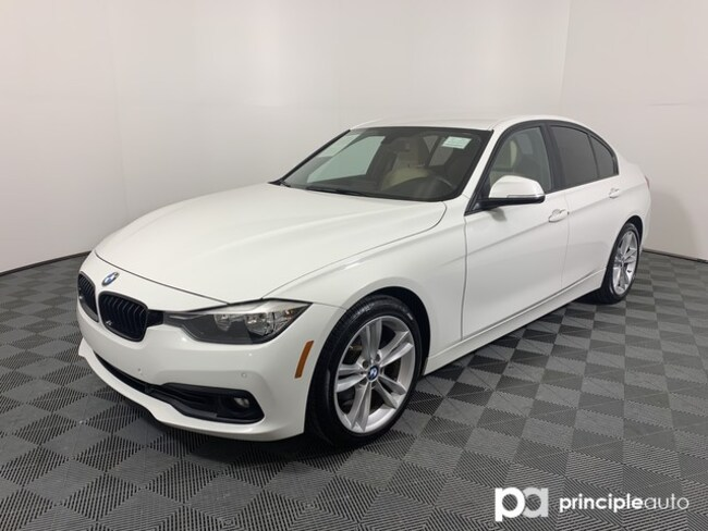 Certified 2017 BMW 320i 320i w/ Sport/Driving Assist/Navigation Sedan San Antonio