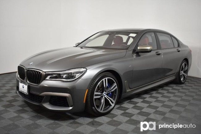 Certified 2018 BMW M760i M760i xDrive w/ Driving Assist Plus/Luxury Rear Se Sedan San Antonio