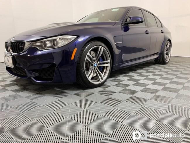 Certified 2017 BMW M3 w/ Executive/Driving Assist Plus/HK Sedan San Antonio