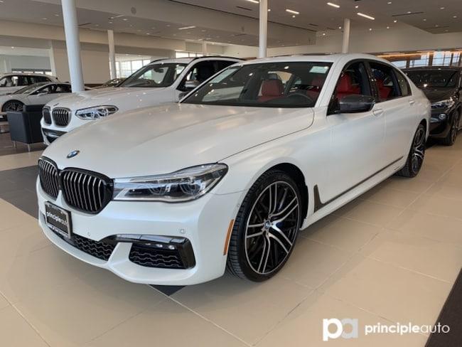 Certified 2018 BMW 750i 750i w/ M Sport/Executive/Driving Assist Plus Sedan San Antonio