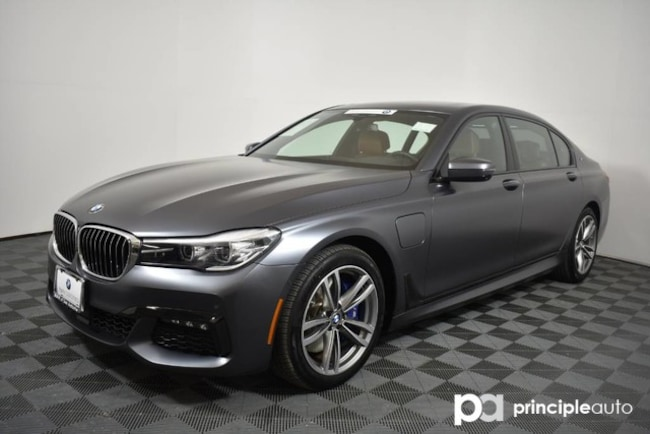 Certified 2018 BMW 740e 740e xDrive iPerformance w/ M Sport/Executive/Driv Sedan San Antonio
