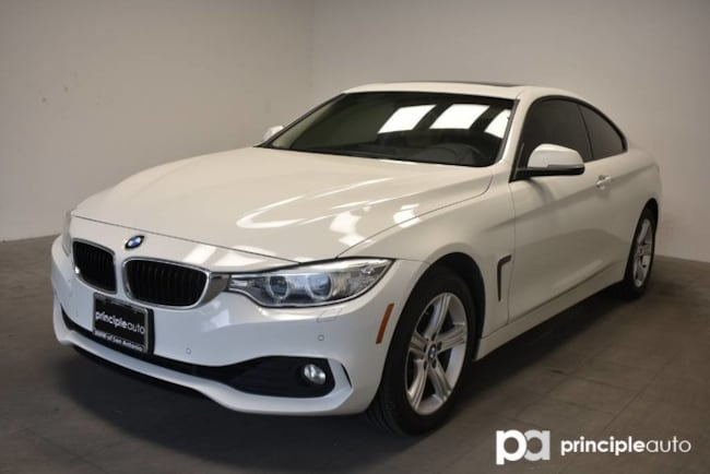 Certified 2015 BMW 428i Coupe 428i xDrive W/ Premium/Driving Assist/Navigation Coupe San Antonio