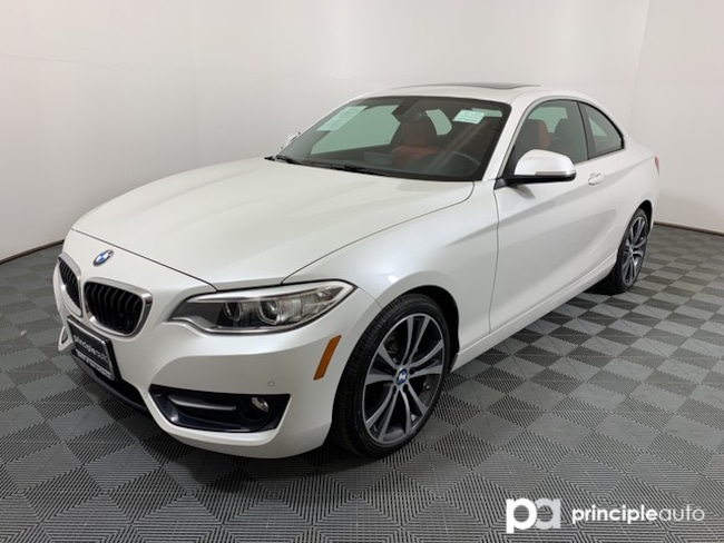 Certified 2016 BMW 228i Coupe 228i w/ Premium/Technology/Lighting Coupe San Antonio