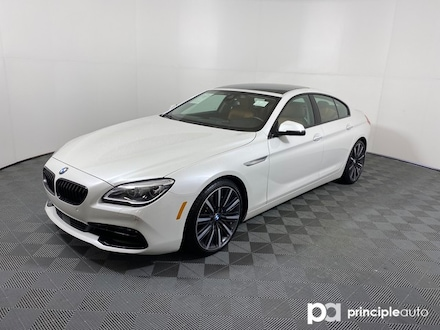 2018 BMW 640i Gran Coupe 640i w/ Executive/Black Accent Package Gran Coupe