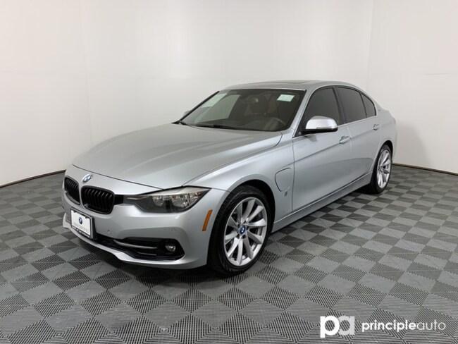 Certified 2017 BMW 330e 330e iPerformance w/ Driving Assist/Monoroof/Techn Sedan San Antonio