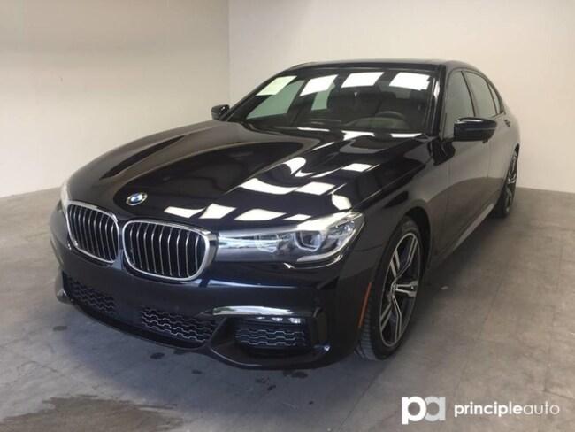 Certified 2018 BMW 740i 740i w/ M Sport/Executive/Driving Assist/Sky Loung Sedan San Antonio