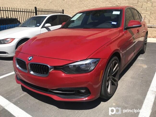 Certified 2017 BMW 330e 330e iPerformance w/ Driving Assist/Navigation Sedan San Antonio