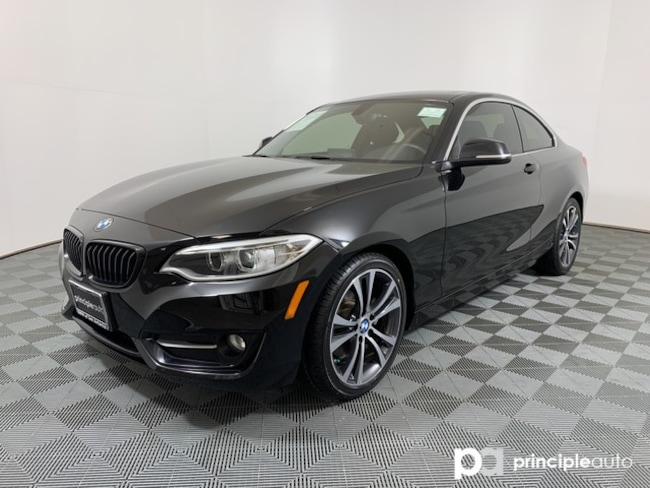 Certified 2017 BMW 230i Coupe 230i w/ Premium/Driving Assist/Lighting/Navigation Coupe San Antonio