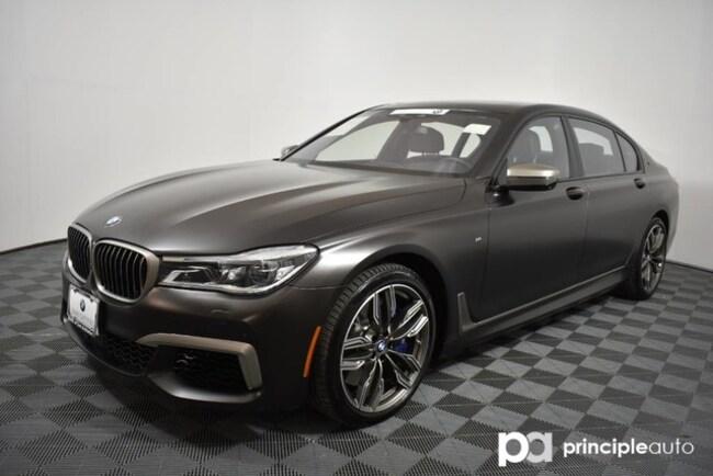 Certified 2018 BMW M760i M760i xDrive w/ Driving Assist Plus/Rear Executive Sedan San Antonio