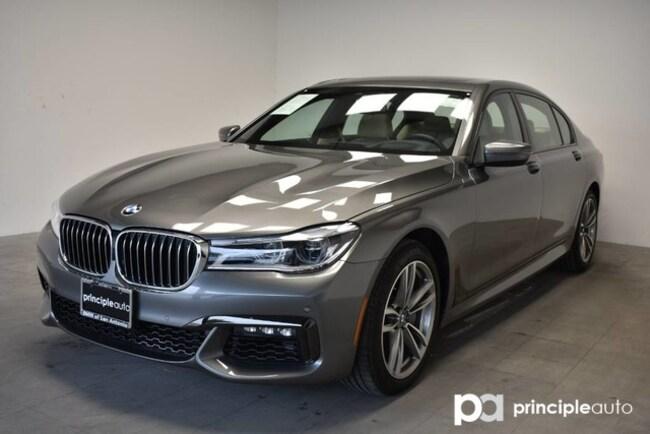 Certified 2018 BMW 750i 750i xDrive w/ M Sport/Executive/Driving Assist/HK Sedan San Antonio