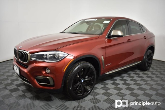 Certified 2016 BMW X6 sDrive35i w/ Premium/Driving Assist Plus/Lighting Sports Activity Coupe San Antonio