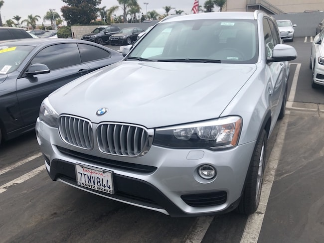 Pre Owned 2016 Bmw X3 For Sale At Bmw Of Santa Maria Vin