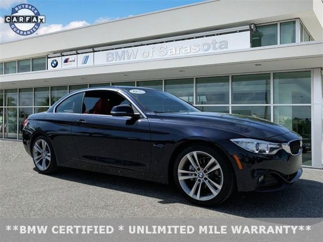 2017 BMW 4 Series 430i Convertible