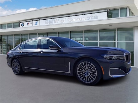 2021 BMW 750i 750i xDrive Sedan