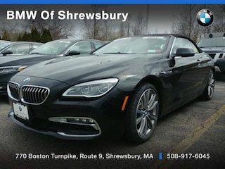 used 2017 BMW 640i xDrive Convertible for sale near Worcester
