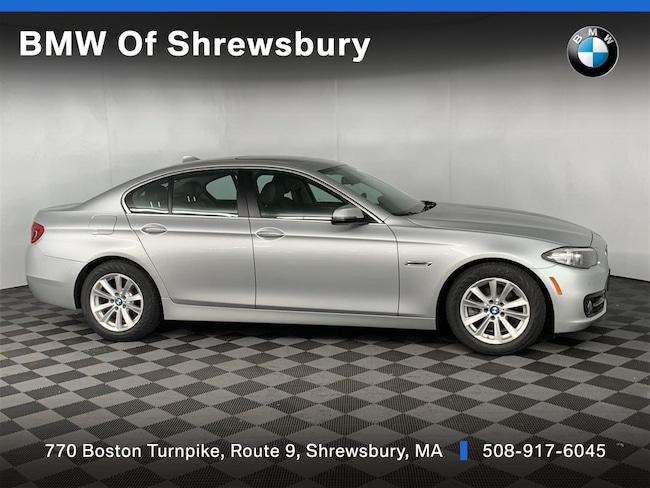 Used 2016 BMW 528i xDrive Sedan Shrewsbury