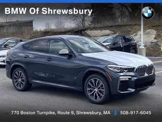 new 2021 BMW X6 M50i SUV for sale near Worcester