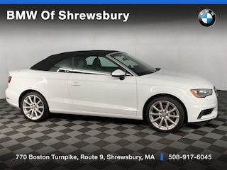 used 2015 Audi A3 2.0T Premium (S tronic) Convertible for sale near Worcester
