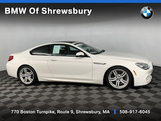 used 2017 BMW 640i xDrive Coupe for sale near Worcester