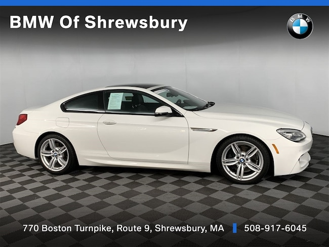 Certified Pre Owned 2017 BMW 640i xDrive Coupe Shrewsbury