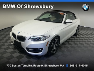 used 2017 BMW 230i xDrive Convertible for sale near Worcester